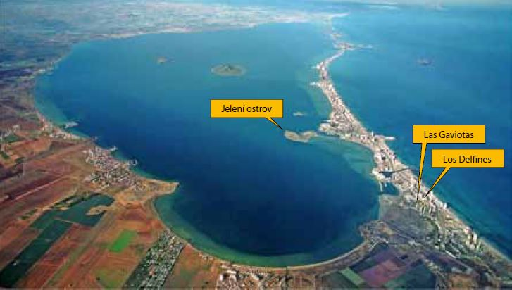 Las Gaviota, Los Delfines Mar Menor